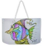 Lady Fish  Weekender Tote Bag
