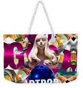 Lady Gaga Graphic Art Weekender Tote Bag