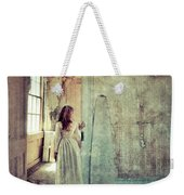 Lady In An Old Abandoned House Weekender Tote Bag by Jill Battaglia