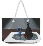 Lady In Blue 3d Weekender Tote Bag