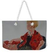 Lady In Chair Weekender Tote Bag