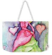 Lady In Love Weekender Tote Bag