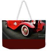Pow Wow Lady In Red Weekender Tote Bag