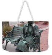 Lady In The Park Weekender Tote Bag