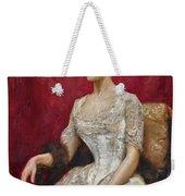 Lady In White Weekender Tote Bag