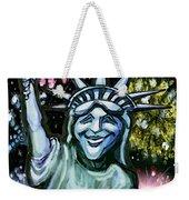 Lady Liberty Weekender Tote Bag