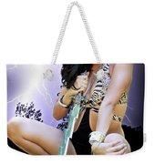 Lady Lightning  Weekender Tote Bag