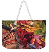 Lady Lunete Weekender Tote Bag by Melissa A Benson