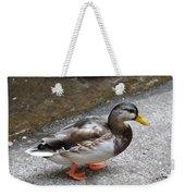 Lady Mallard Weekender Tote Bag
