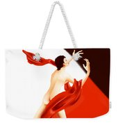 Lady Michiru And The Invisible Man Weekender Tote Bag