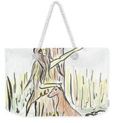 Lady Nature Weekender Tote Bag
