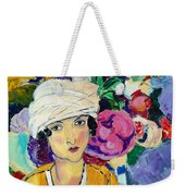 Lady Of Le Piviones Weekender Tote Bag