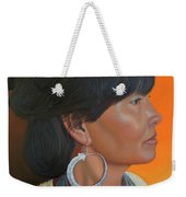 Lady Of Sapa Weekender Tote Bag