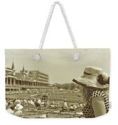 Lady Of The Derby Weekender Tote Bag