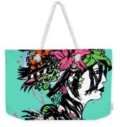 Lady Of The Garden Weekender Tote Bag
