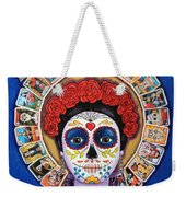 Lady Of The Loteria Weekender Tote Bag
