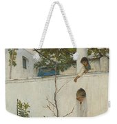 Lady On A Balcony, Capri Weekender Tote Bag