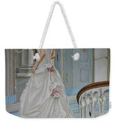 Lady On The Staircase Weekender Tote Bag