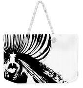 Lady Slipper Silhouette Weekender Tote Bag by Jessica Manelis
