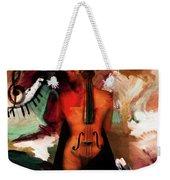 Lady Violin 01 Weekender Tote Bag
