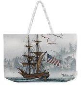 Lady Washington Weekender Tote Bag by James Williamson