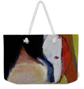 Lady With A Mask Weekender Tote Bag