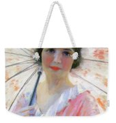 Lady With A Parasol 1921 Weekender Tote Bag