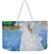 Lady With A Parasole  Weekender Tote Bag