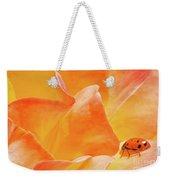 Ladybug Alights Weekender Tote Bag