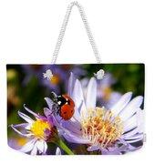 Ladybug Shows Her Heart Weekender Tote Bag