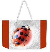 Ladybug Spectacular Weekender Tote Bag