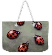 Ladybugs Weekender Tote Bag