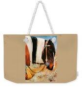 Ladys Jewels Horse Painting Portrait Weekender Tote Bag