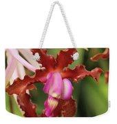 Laelia Undulata Orchid Weekender Tote Bag