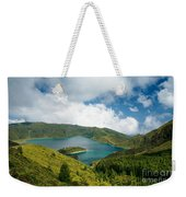 Lagoa Do Fogo Weekender Tote Bag