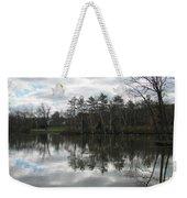 Lagoon Reflection 1 Weekender Tote Bag