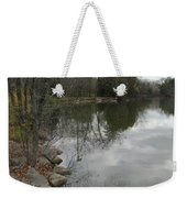 Lagoon Reflections 3 Weekender Tote Bag