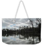 Lagoon Reflections 4 Weekender Tote Bag