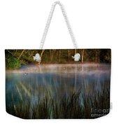 Lagoon Sunrise Weekender Tote Bag