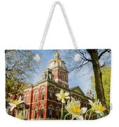 Lagrange County Courthouse Weekender Tote Bag