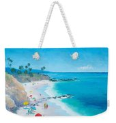 Laguna Beach Umbrellas Weekender Tote Bag