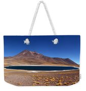 Laguna Miniques And Miniques Volcano Chile Weekender Tote Bag