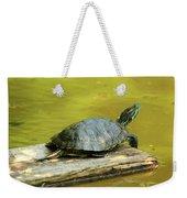 Laidback Turtle Weekender Tote Bag