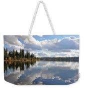 Lake And Clouds Weekender Tote Bag