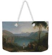 Lake Avernus - Aeneas And The Cumaean Sybil Weekender Tote Bag