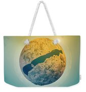 Lake Balaton 3d Little Planet 360-degree Sphere Panorama Weekender Tote Bag