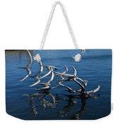 Lake Birds Weekender Tote Bag