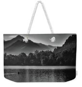 Lake Bled Rower - Slovenia Weekender Tote Bag