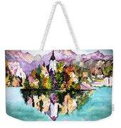 Lake Bled - Slovenia Weekender Tote Bag