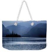 Lake Bled Twilight Weekender Tote Bag